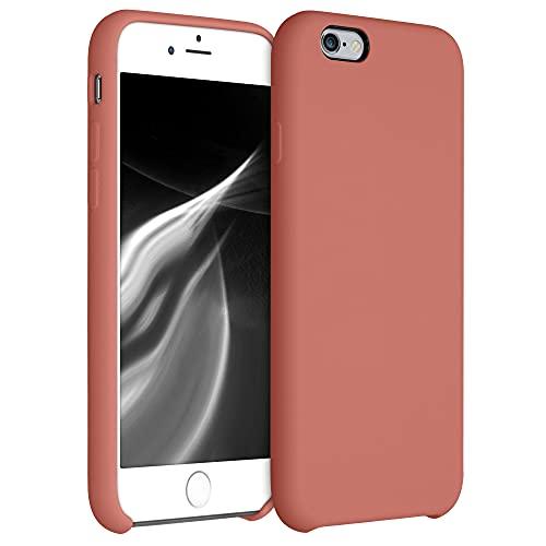 kwmobile Hülle kompatibel mit Apple iPhone 6 / 6S - Hülle Handyhülle gummiert - Handy Hülle in Blush Beauty