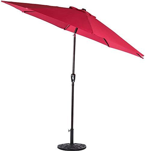 Sundale Outdoor 10 Feet Outdoor Aluminum Patio Umbrella