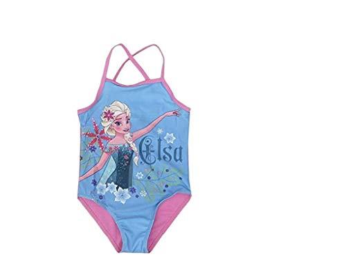 Disney Frozen Die Eiskönigin Badeanzug (104 - ca. 3-4 Jahre, rosa)