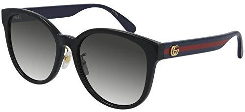 Gucci Gafas de sol GG0854SK 002 Gafas de sol mujer color Negro gris tamaño de lente 56 mm