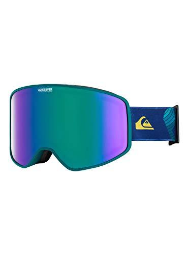 Quiksilver Storm-Snowboard/Esquí Máscara para Hombre, Everglade, 1SZ