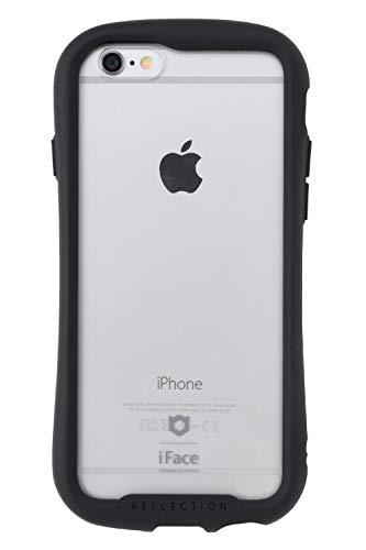 iFace Reflection iPhone6s/6 ケース クリア 強化ガラス [ブラック]