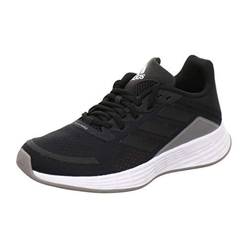 adidas Unisex-Kinder Duramo SL K Sneaker, Negbás/Negbás/Grisei, 36 EU