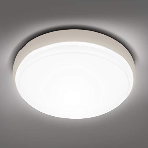 LE 24W LED Deckenleuchte IP54, 2200LM 4000K Ø26.5cm Deckenlampe, Wasserfest Badlampe Leuchte, Neutralweiß Licht Flach Lampe Ideal für Badezimmer, Küche, Wohnzimmer, Schlafzimmer, Balkon, Flur, Bad