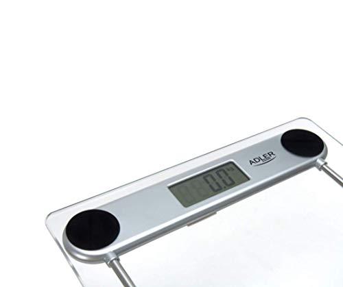 31qOZaPxsCL. SL500  - Adler ad8121 - Báscula de baño, transparente, vidrio, lcd