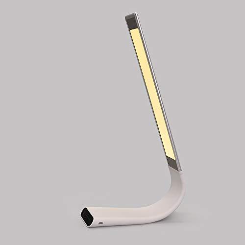 Artpad 6W Sliver Touch Switch Bureau Tafel Leeslamp 6 Niveaus Helderheid Dimmen Ultradunne Oogverzorging Oplaadbare Draagbare Desktoplamp Kantoorverlichting