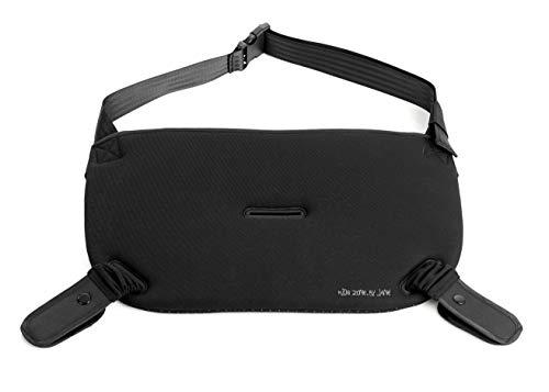 Jané Cinturón de Seguridad para Embarazadas, Dos Posiciones para el Uso con Pantalón y Falda, Negro