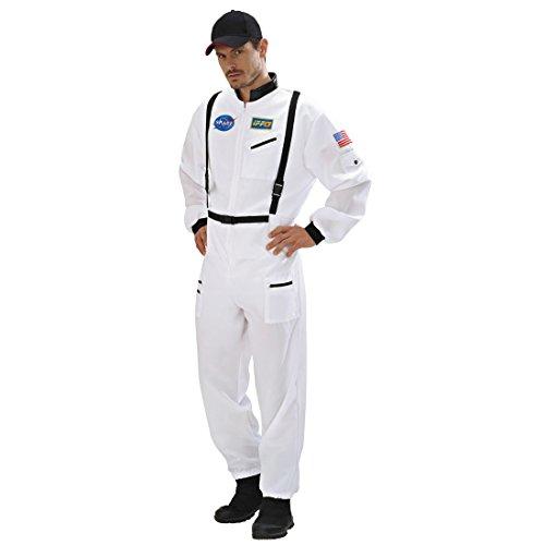 Disfraz espacial de astronauta para hombre, talla XL 54, astronauta Spaceman, disfraz de astronauta, disfraz de hombre