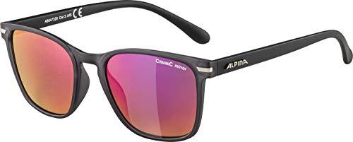 ALPINA Unisex - Erwachsene, YEFE Sonnenbrille, grey transparent matt, One Size