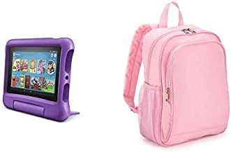 Fire 7 Kids Tablet 32GB Purple with Made for Amazon Kids...