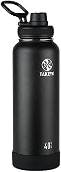 Takeya Actives 40 oz. Insulated Stainless Steel Water Bottle