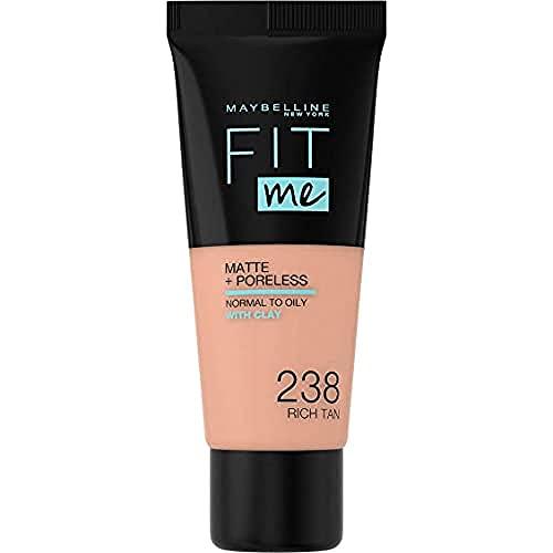 Maybelline Fit Me Matte & Poreless Foundation 238 Rich Tan 30ml