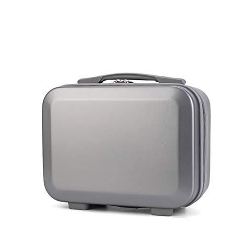 MENGSHI Mini equipaje de mano de viaje, bolsa de cosméticos, bolsa de transporte pequeña para maquillaje, duradera y práctica