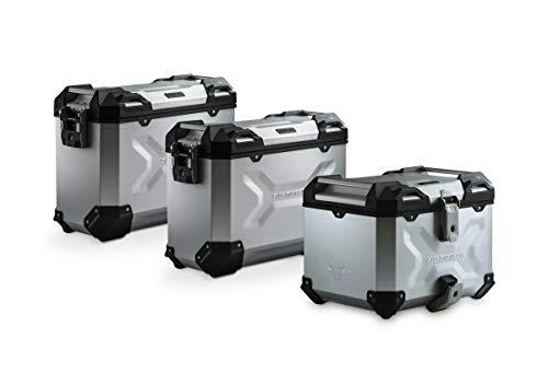 SW-Motech TRAX ADV Adventure Premium Aluminium Kofferset für BMW R 1200 GS Silber