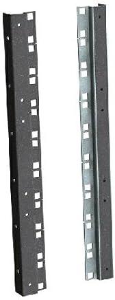 '15he Rack perfiles de Negro para 482.6mm (19) 6U