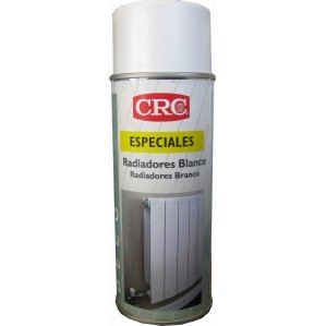 CRC - Spray De Pintura Para Radiadores Color Blanco. Deco Radiadores Blanco 400 Ml