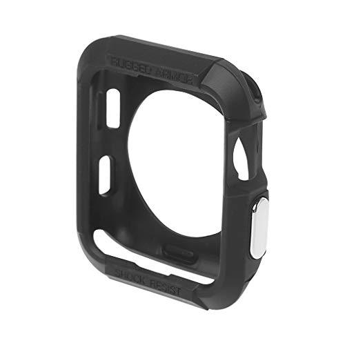 William-Lee 2019 42MM TPU Case Soft Silicone Scratch Proof Shock Volledige Bescherming Cover Case Bumper Compativle met Apple Watch IWatch Series 3 2 1