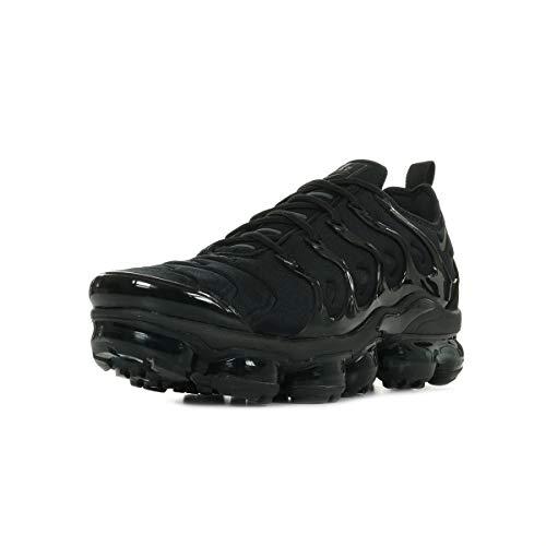 Nike Air Vapormax Plus, Scarpe da Ginnastica Basse Unisex-Adulto, Nero (Black/Black/Dark Grey 001), 43 EU