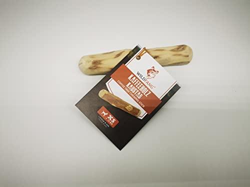 Wildfang® Raíz para Masticar Hecha de Madera del árbol de café para Perros I Hueso de Madera - Juguete para Masticar - Cuidado Dental y Entrenamiento de la mandíbula I Palo Duradero y Natural