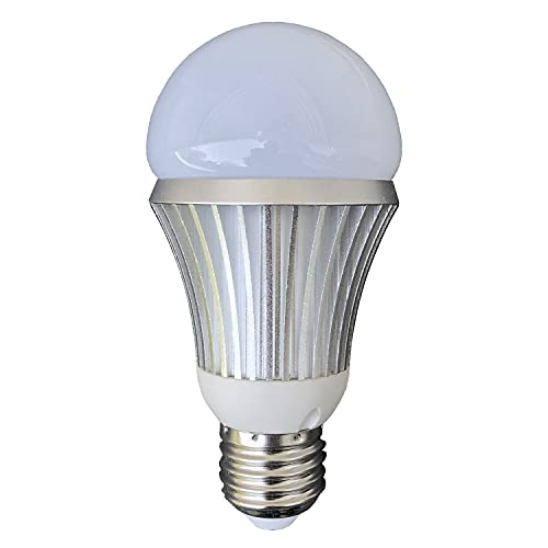 Total Invisible Super Wide 940nM IR Light Bulb Covert Lamp (7 High Power LED illuminators + Light Sensor) 25ft Range, 160 deg, 120VAC