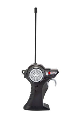 RC Auto kaufen Spielzeug Bild 5: Maisto Tech R/C VW Bus Feuerwehr: Ferngesteuertes Auto mit Licht & Sound, Maßstab 1:24, Pistolengriff-Fernsteuerung, 5.8 km/h, 20 cm, rot (582091F)*