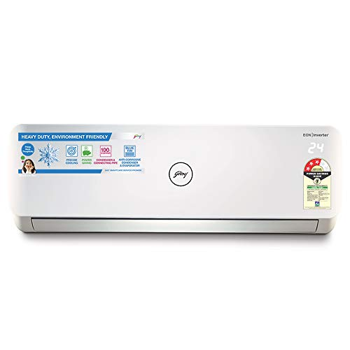 Godrej 1 Ton 3 Star Split AC (Copper GSC 12NTC3-WTA White)