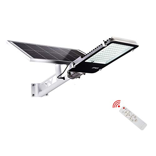 CHY Led-zonnelicht, IP65 waterdicht veiligheidsnachtlampje buitenshuis, draadloze wandlamp met afstandsbediening, voor tuin, hek, patio, yard, gatter