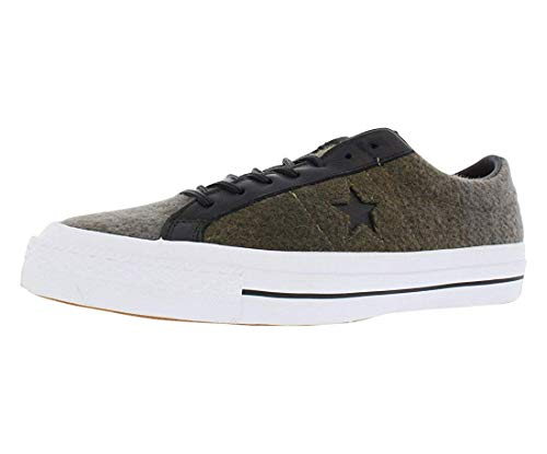 Converse Men's One Star Woolrich Ox Khaki 154036C-261