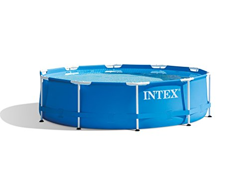 Intex 10ft x 30in Metal Frame Pool with Filter Pump