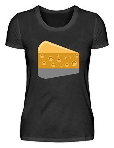 Kaas - chese, muis, melk, kaassoorten, eten, melkproducten, voeding, voedsel - damesshirt