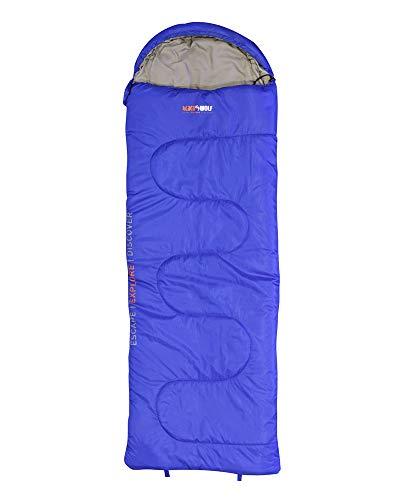 BlackWolf Meridian 450 Anti Bite Zipper Guard Hidden Chest Pocket Contoured Hood Sleeping Bag