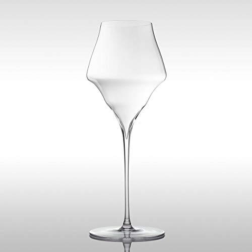 Josephine No. 4 - Juego de 6 copas de champán (vidrio soplado artesanalmente y apto para lavavajillas)
