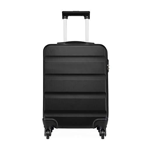 Kono Trolley Rigido in ABS bagaglio a mano 55x38x20 cm Valigia rigida con 4 ruote
