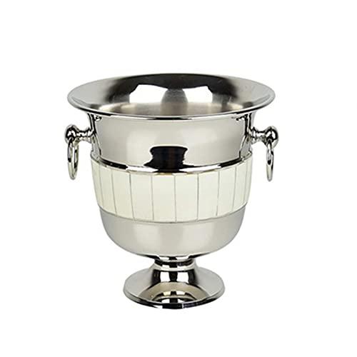 Yousiju Hogar Engrosado del refrigerador del envase del Cubo de Hielo del Acero Inoxidable del Cubo de Hielo, Hotel