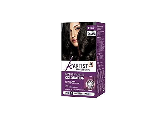 Artist Professional Intensiv Creme Coloration Nr. 30 Dunkelbraun Haarfarbe = 1 Set