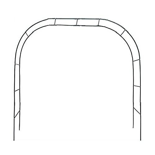Curroxer - Arco da giardino in metallo extra alto 200 cm, resistente pergolato tubolare, per rose rampicanti, supporto per arco, tralicci da giardino, obelischi, decorazione per matrimoni