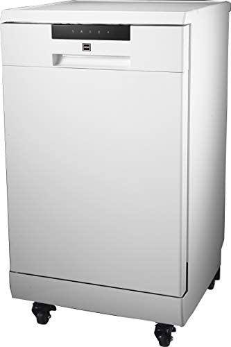 RCA RDW1809 Portable Dishwasher 18in Wide 8 Place Settings Capacity White product image