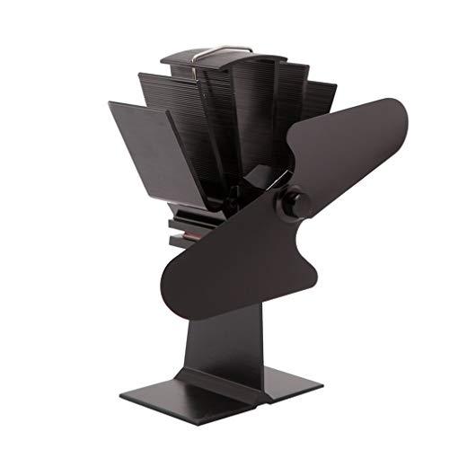 GOLDGOD Kaminventilator, Kaminwärmekraft, Zweiseitiger Ventilator Holzkaminventilator
