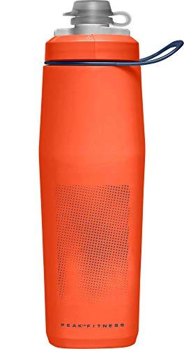 CamelBak Peak Fitness Chill, Bottiglie Unisex-Adulto, Fiery Rosso/Bianco, 0.62 Litre/21 oz
