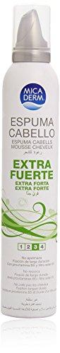 Mica Derm - Espuma cabello - Nº 3 Extra fuerte - 300 ml