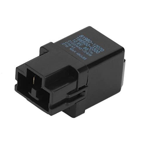 Flasher Relay Señal de giro Ajuste para reemplazar Accesorio automático Accesorios de automóvil Protección de seguridad Duradera para usar 81980-12070 interruptor del coche