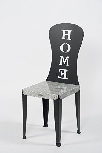Styl'Métal 21 Lot 2 chaises Lilou Home métal Noir