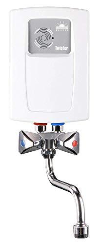 Piccolo scaldabagno elettrico istantaneo, 3,5 kw, con rubinetto miscelatore incluso, per lavarsi le mani 240 v