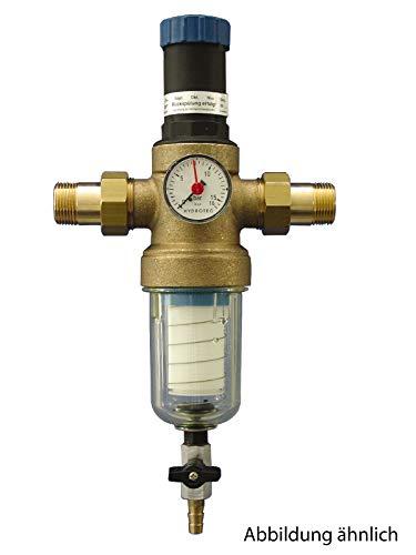 Sanitop-Wingenroth 14328 8 Hauswasserfilter rückspülbar mit integriertem Druckminderer 3/4 Zoll