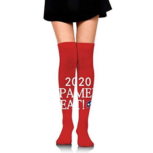 Medias altas de muslo calcetines largos deportivos botas calcetines altos para mujer