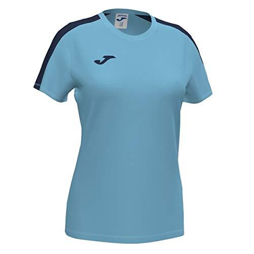 Joma Academy T-Shirt à Manches Courtes pour Femme L Turquoise Fluo