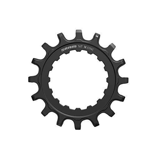 Sram X-Sync E-MTB Stahl für Bosch Antriebe Kettenblätter, schwarz, 16T
