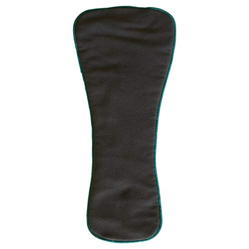 Teen/Adult Charcoal Bamboo Insert: for Incontinence Cloth Diapers (1 Snap-in Insert ONLY,Extended)