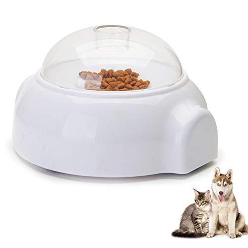 Automatischer Futterautomat für Katzen und Hunde, kleine und mittlere Haustiere Automatischer Futterautomat, langsamem Futter Futterautomat Fütterungsbedarf für die meisten Tiere zum Spielen und Essen