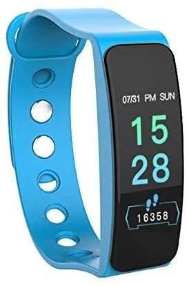 Gymqian Pulsera Inteligente Del Rastreador de Fitness, Bluetooth 4.0 Pulsera Impermeable Pulsera Monitoreo de Salud, una Variedad de Funciones de Monitoreo, Pista de Movimiento Gps,